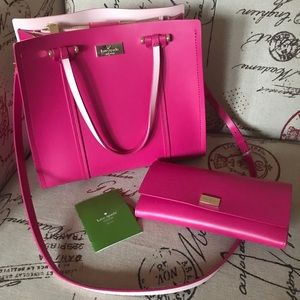 Kate Spade purse and wallet matching set